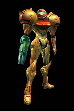 Samus Aran, Metroid Video game Series